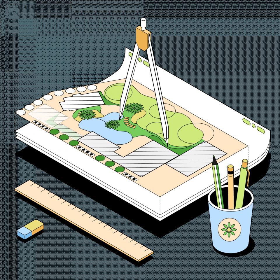 Курс «Ландшафтный дизайнер» от Skillbox