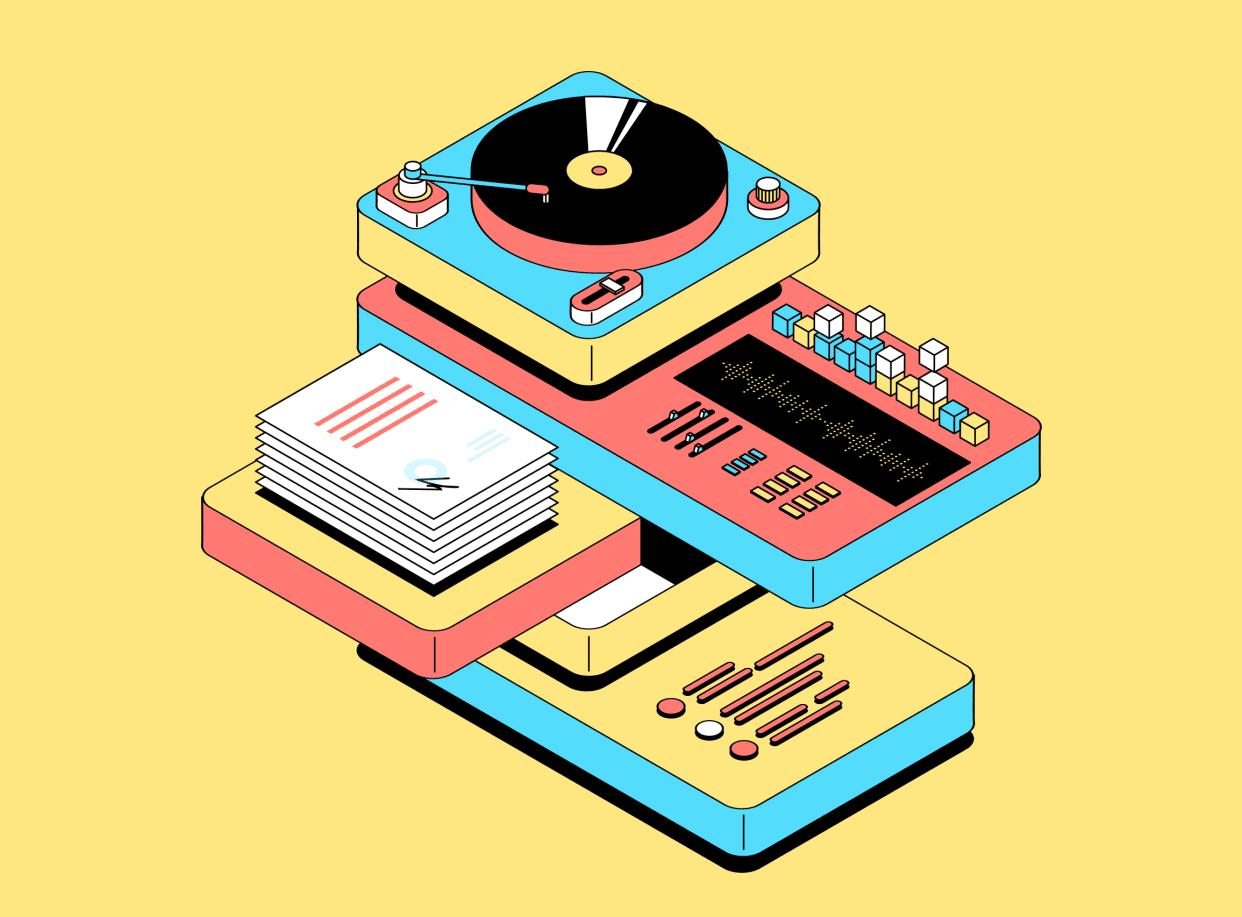 Курс «Менеджер музыкального лейбла» от Skillbox